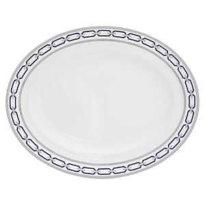 Vera Wang Wedgwood With Love Nouveau Indigo Oval Platter