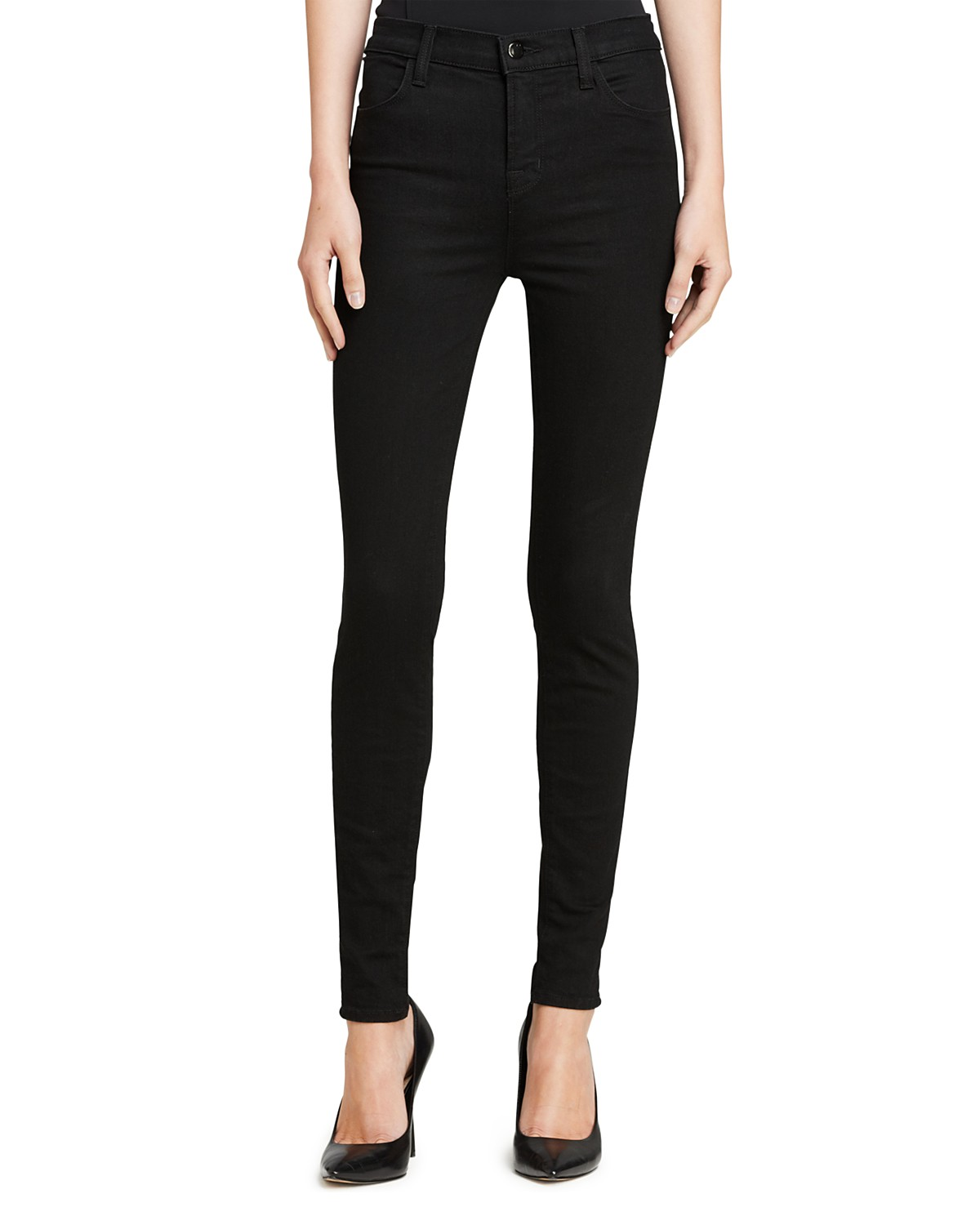 high rise skinny jeans - Black J Brand Buy Cheap For Nice Low Shipping Fee Sale Online Newest Pre Order Sale Cost 22LyhTq