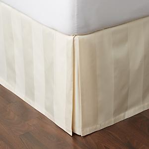 Hudson Park 600TC Stripe Bedskirt, King - 100% Exclusive
