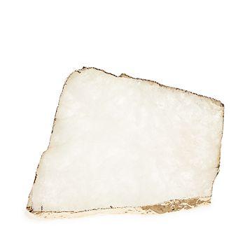 ANNA new york - Kiva Medium Crystal & Rose Gold Platter