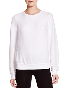 WILDFOX - Clean White Sweatshirt