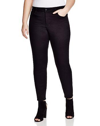 d58e45735eee6 NYDJ Plus Alina Legging Jeans in Black | Bloomingdale's