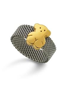 TOUS - Bear Mesh Ring