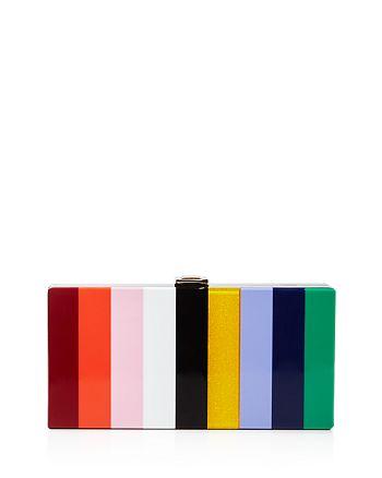 MILLY - Rainbow Box Clutch