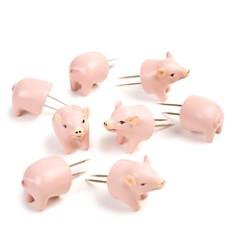 Charcoal Companion - Pig Corn Holders, Set of 4