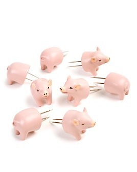 Charcoal Companion - Pig Corn Holders, Set of 4