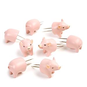 Charcoal Companion Pig Corn Holders, Set of 4