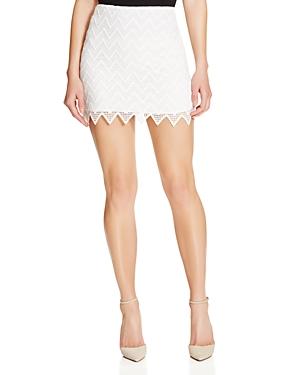 Aqua Zigzag Lace Skirt - 100% Exclusive