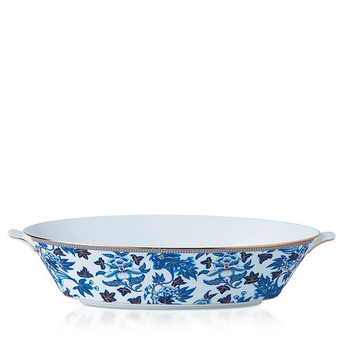 Wedgwood - Hibiscus Oval Serving Bowl