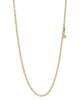 Temple St. Clair - Temple St. Clair 18K Gold Extra Small Oval Chain, 18''