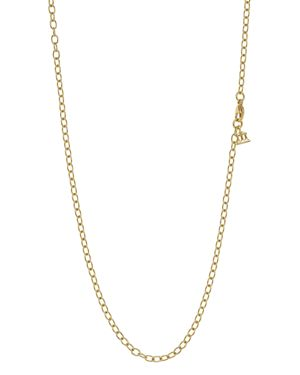 """Temple St. Clair 18K Gold Extra Small Oval Chain, 18"""""""