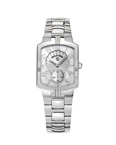 Philip Stein - Classic Sport Small Diamond Mother of Pearl Dial Watch, 27mm