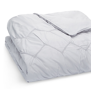 Sky Smock Chevron Comforter Cover King  100 Exclusive