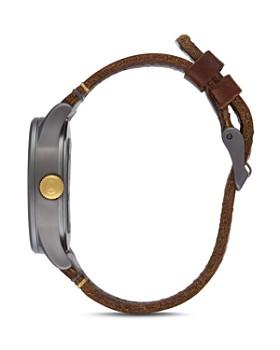 Nixon - Sentry Leather Strap Watch, 38mm