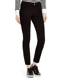 FRAME - Le Color Skinny Jeans in Film Noir