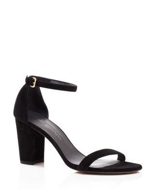 Stuart Weitzman Womens Nearlynude  Heeled Sandal