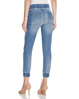 63942f736db ... Bella Dahl - Distressed Denim Jogger Pants