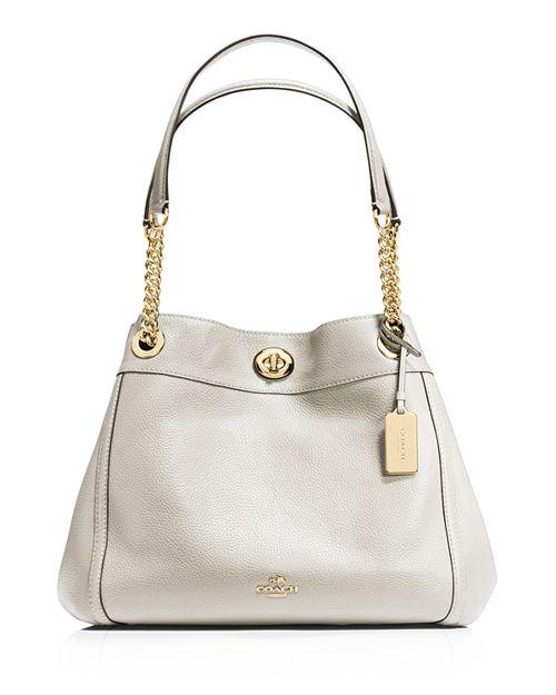 5d173c2261c COACH Turnlock Edie Shoulder Bag in Pebble Leather   Bloomingdale s