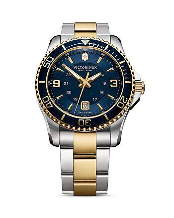 Victorinox Swiss Army - Two Tone Watch, 43mm