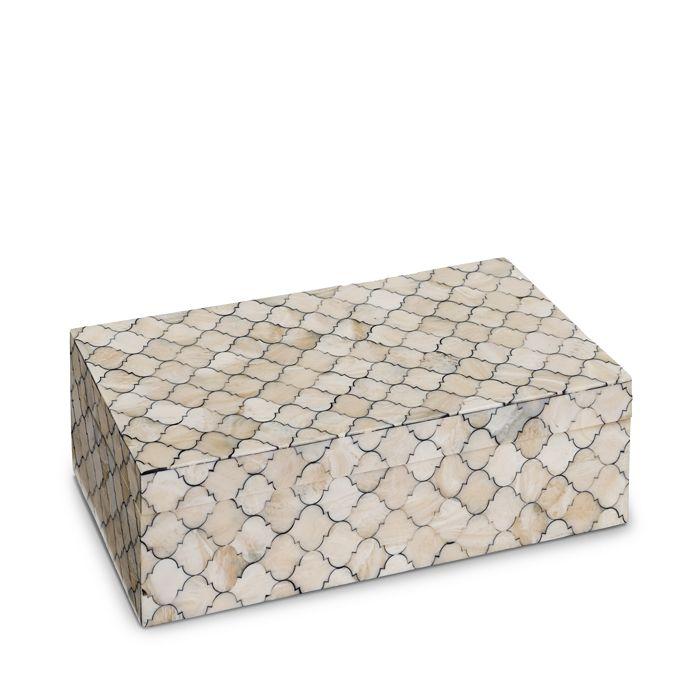 Regina Andrew Design - Mosaic Quatrefoil Large Box