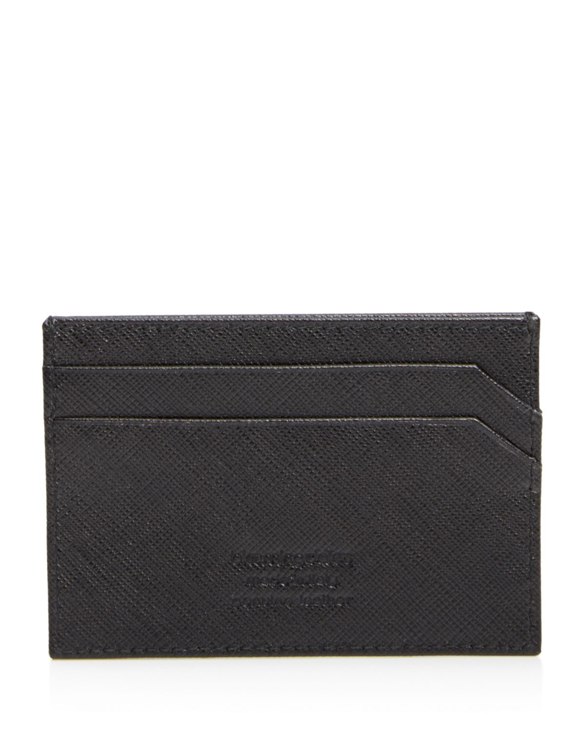Saffiano Card Case   100 Percents Exclusive by The Men's Store At Bloomingdale's