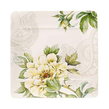 Villeroy & Boch - Quinsai Garden Square Salad Plate, Peony