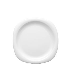 Suomi White Salad Plate