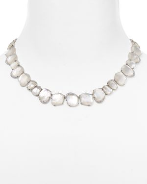 Nadri Mother-of-Pearl Collar Necklace, 16