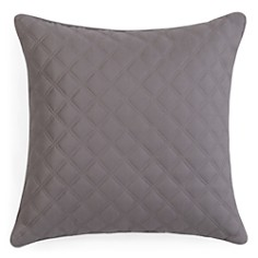 "Hudson Park Double Diamond Decorative Pillow, 16"" x 16"" - 100% Exclusive - Bloomingdale's_0"