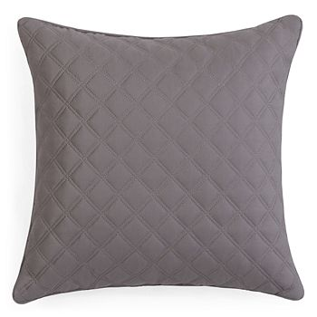 "Hudson Park Collection - Double Diamond Decorative Pillow, 16"" x 16"" - 100% Exclusive"