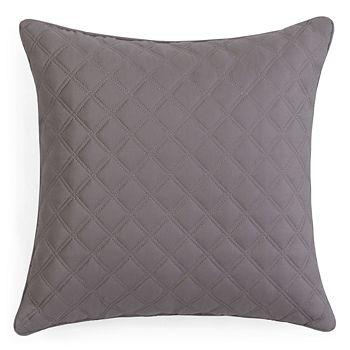 """Hudson Park Collection - Double Diamond Decorative Pillow, 16"""" x 16"""" - 100% Exclusive"""