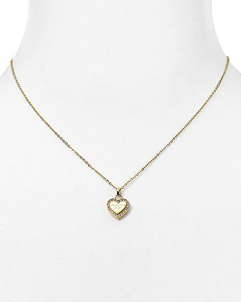 e453cf728191 Michael Kors Heart Pendant Necklace