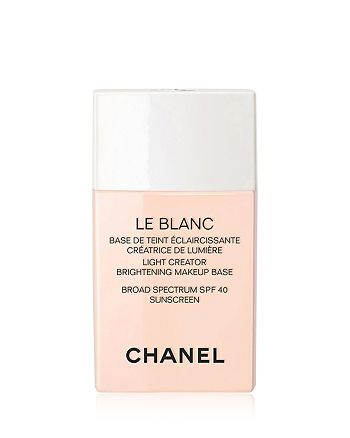 CHANEL - LE BLANC Light Creator Brightening Makeup Base Broad Spectrum SPF 40 Sunscreen