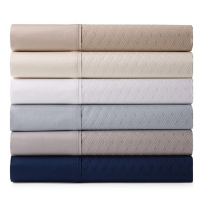 Bedford Jacquard Extra Deep Fitted Sheet, Queen