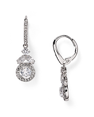 Nadri Swarovski Crystal Drop Earrings