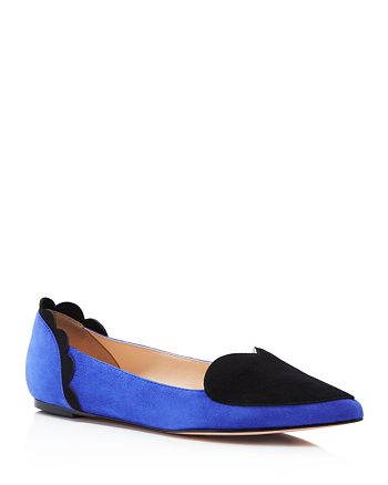 Isa Tapia - Women's Clement Pointed-Toe Heart Flats