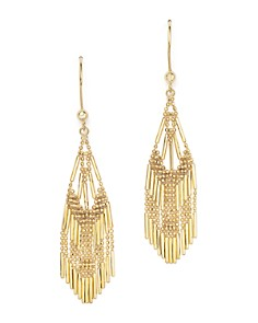 Bloomingdale's - 14K Yellow Gold Beaded Dangle Earrings - 100% Exclusive