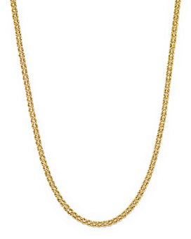 "Bloomingdale's - 14K Yellow Gold Double Row Light Rope Necklace, 18"" - 100% Exclusive"