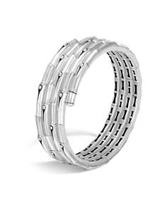 JOHN HARDY - Sterling Silver Bamboo Four-Coil Bracelet