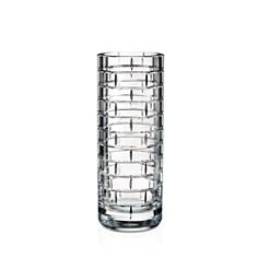 Rogaska - Quoin 12'' Round Vase