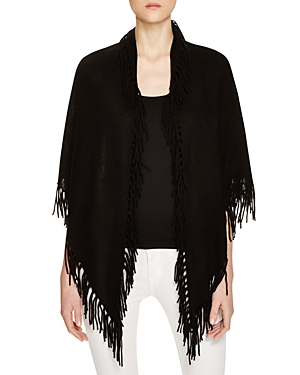 Minnie Rose Cashmere Fringe Blanket Wrap