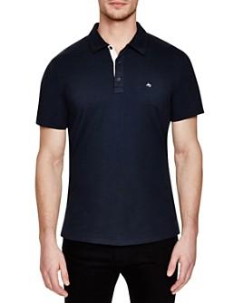 rag & bone - Solid Regular Fit Polo Shirt