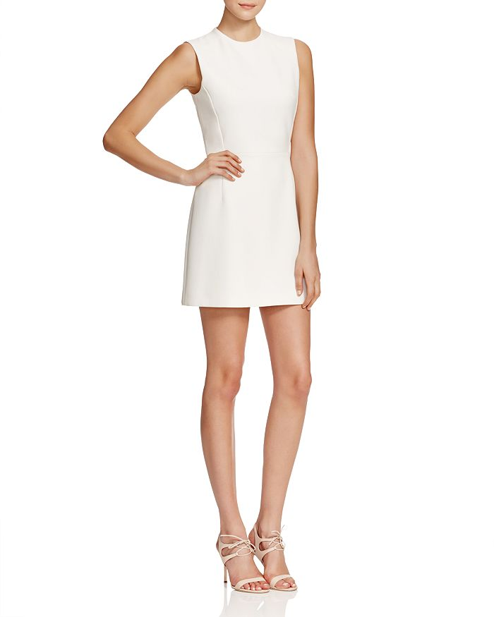 FRENCH CONNECTION - Sundae Solid Mini Dress