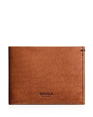 Shinola Slim Bi-Fold Wallet