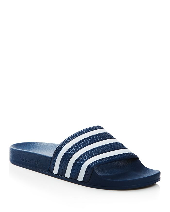 sports shoes 17373 66ec2 Adidas - Mens Adilette Slide Sandals