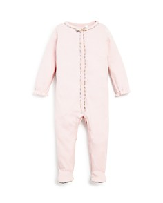 Burberry Girls' Signature Check Trim Footie - Baby - Bloomingdale's_0