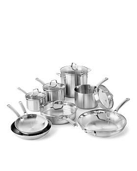 Calphalon - Classic Stainless Steel 14-Piece Cookware Set