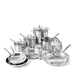 Calphalon Classic Stainless Steel 14-Piece Cookware Set
