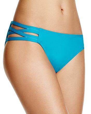 Carmen Marc Valvo - Solid Bikini Bottom