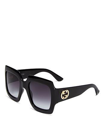 Gucci - Women's Oversized Square Sunglasses, 53mm